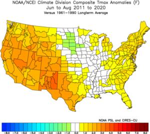 Water vapor vs. CO2 as a climate control knob 5