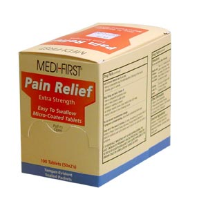 CFA Medical :: PAIN RELIEF TABLETS 250X2