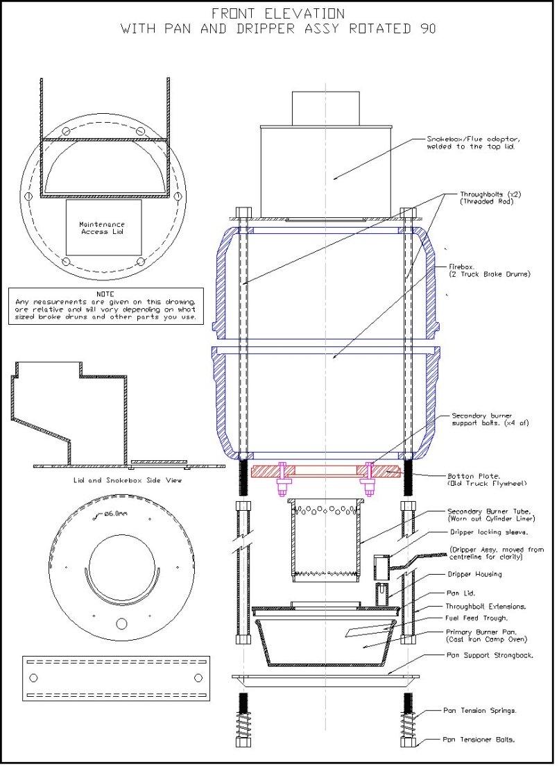diy waste oil burner design