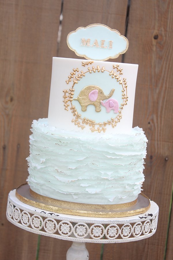 Baby Shower  Smash Cakes  Charity Fent Cake Design