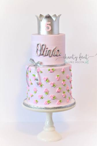 Princess Tea Party Charity Fent Cake Design