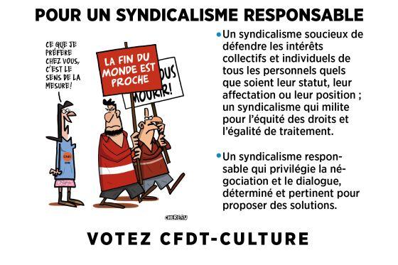 LE 4 DÉCEMBRE 2014, VOTEZ CFDT-CULTURE!
