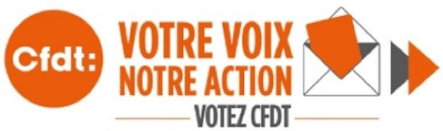 CFDT élections 6 décembre 2018