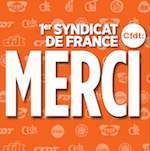CFDT Première organisation syndicale Merci