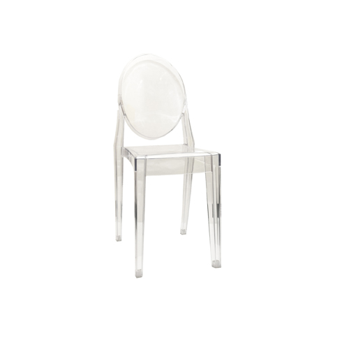 black ghost chair hire pottery barn leather chairs complete function event furniture victoria