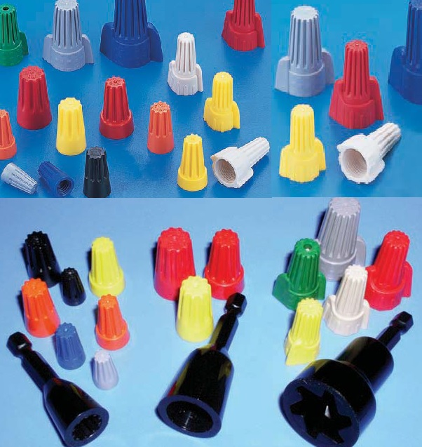 Wire Nut Connectors On Usa Electrical Wiring Color Code Standard