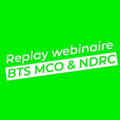 Replay webinaire MCO & NDRC