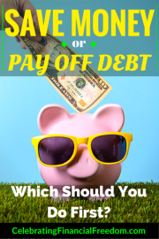 Save For Retirement or Pay Off Debt- What Should You Do First?