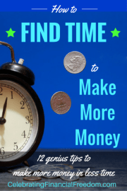 How to Find the Time to Make More Money- Gain 10+ Hours a Week for Your Side Gig