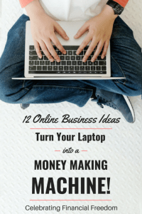 12 Online Business Ideas- Turn Your Laptop into a Money Making Machine!