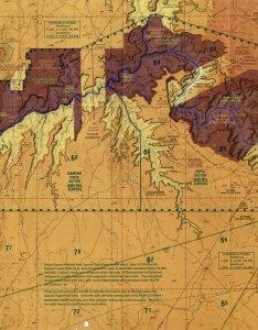 Grand canyon vfr aeronautical chart also navigation charts rh cfinotebook