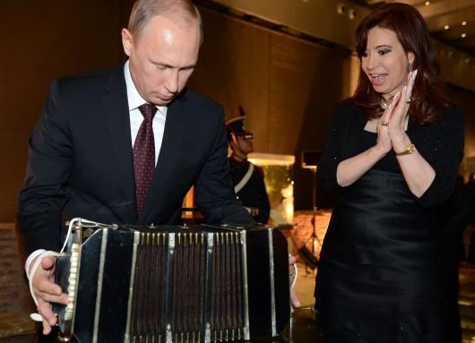 Кристина Киршнер и Путин