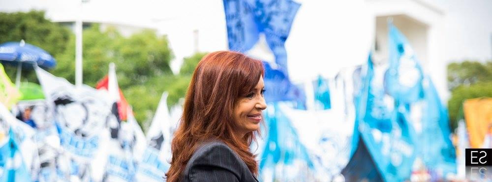 Cristina en Comodoro Py