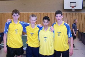 4.Platz Norddeutsche Mannschaftsmeisterschaften Jugend