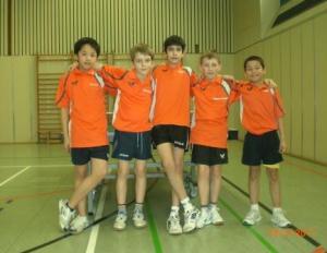 Mannschaftsfoto 2 1.B-Schüler 2010-11 klein