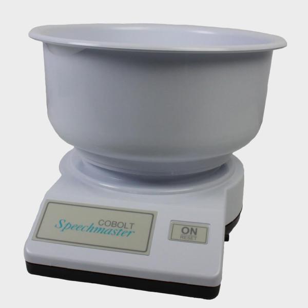 balance de cuisine parlante avec bol
