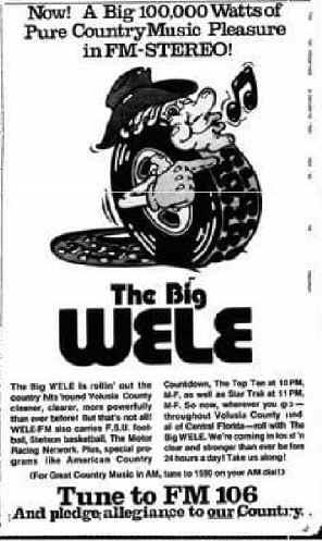 WELE-FM 105.9 Deland