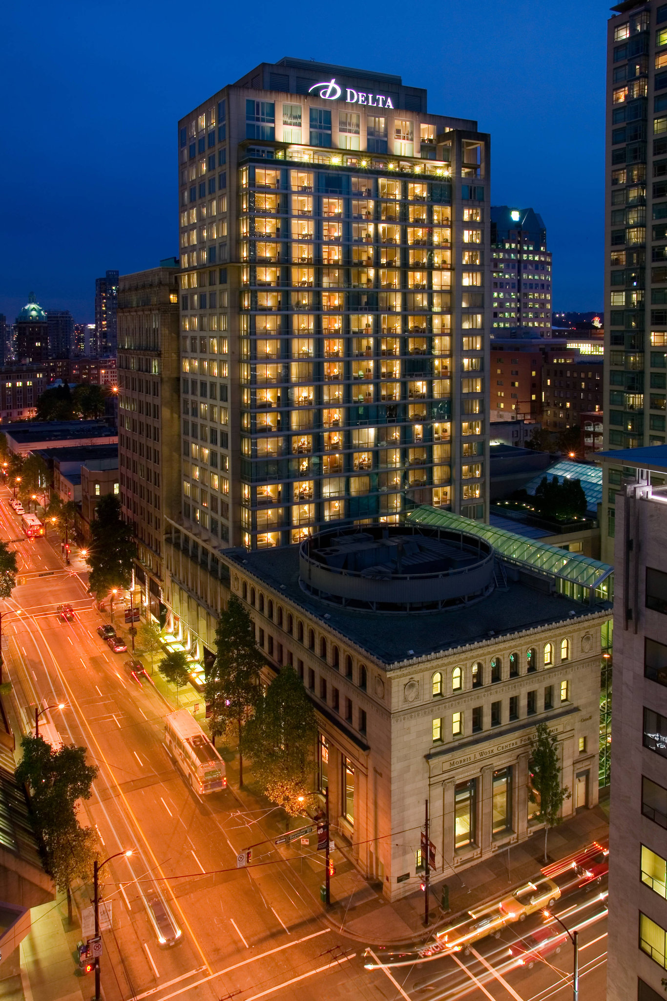 Delta Vancouver Suites First Class Vancouver Bc Hotels