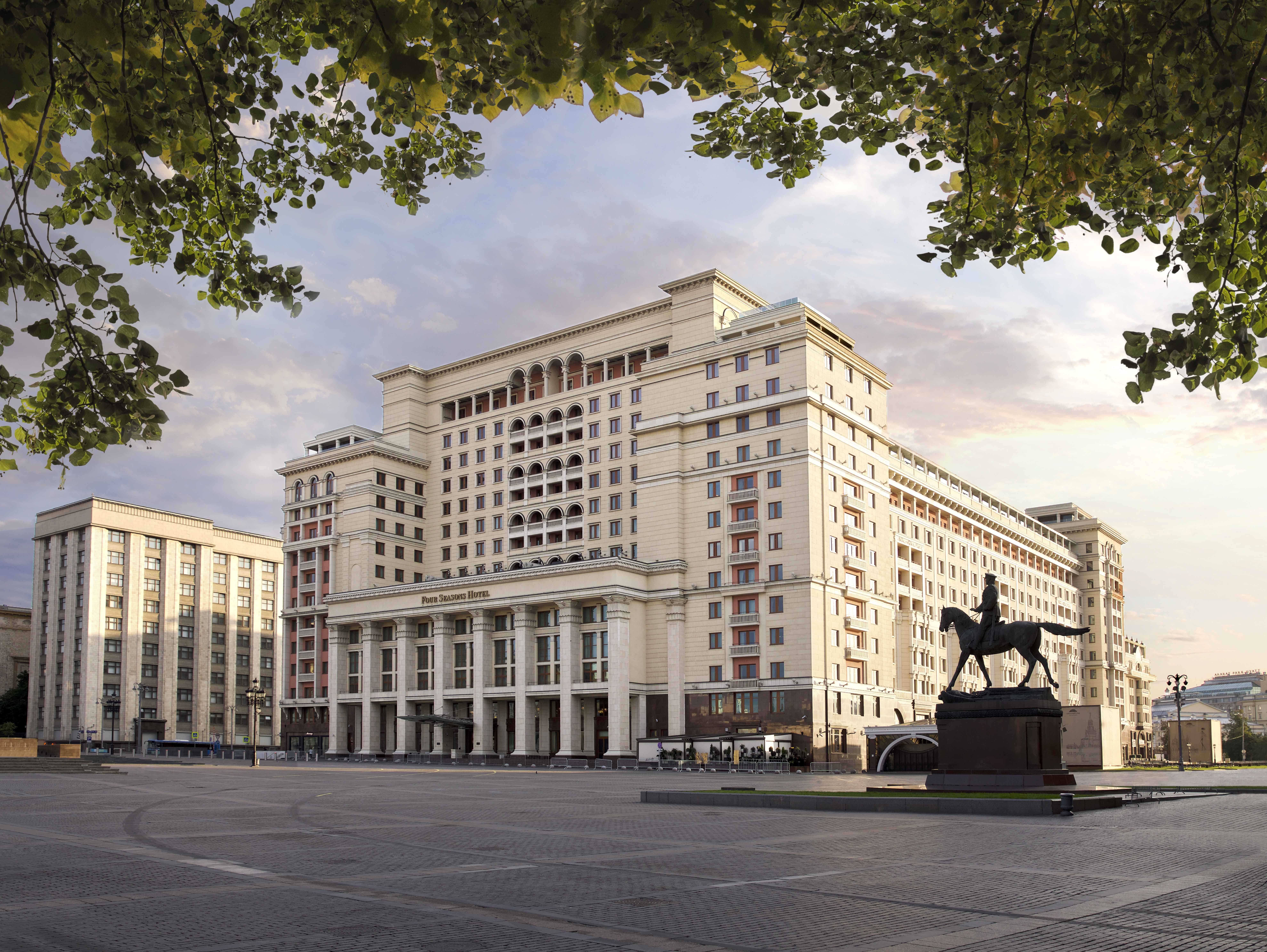 Four Seasons Hotel Moscow- Deluxe Moscow. Russia Hotels- GDS Reservation Codes: Travel Weekly