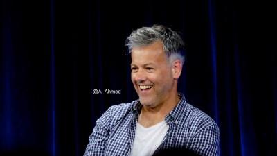 "Rupert Graves. DI Lestrade of ""Sherlock"" at Nerd HQ Panel 2015. Photo Copyright Annika Ahmed"