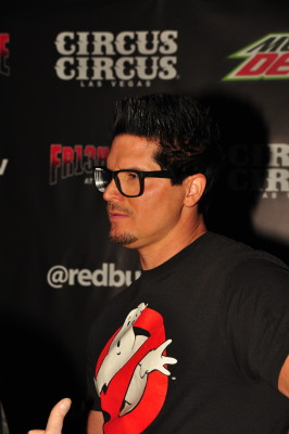 """Ghost Adventures"" star Zak Bagans.  Photo copyright Larry Cunningham"