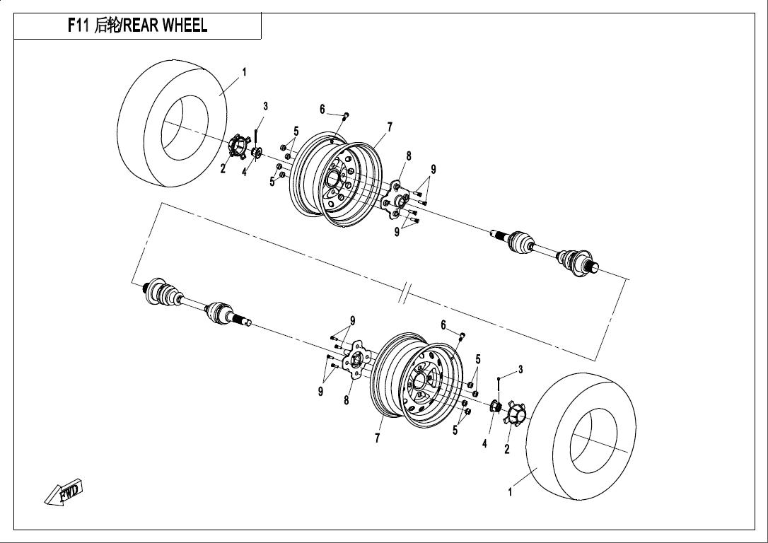 Atv Cf500atr 3