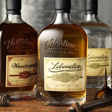 CF Napa Brand Design Liberator Gin Amp Woodward Bourbon