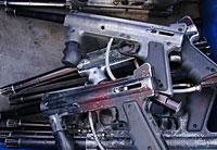 gun buy back program - image of guns