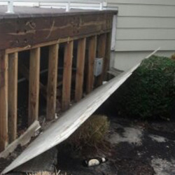 Covenant House Post-Sandy - image of damage