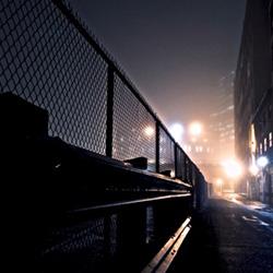 Human Trafficking - image of dark alley