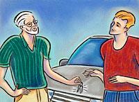 Photo of car transfer