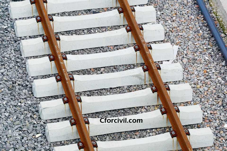 Railway Track Sleepers