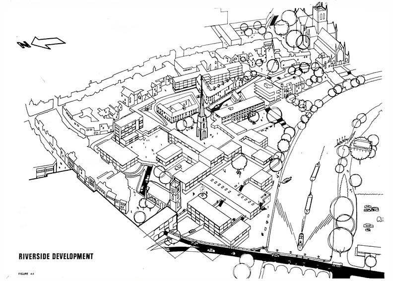 City Centre Highway Plan: Artist's impression/plan