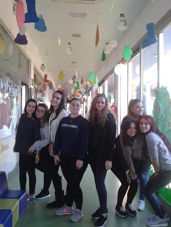 Preparacin del Carnaval en el Centro de Educacin