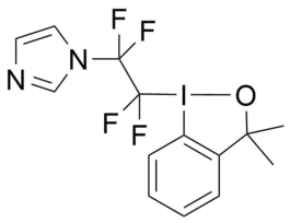 Alcohol Togni-(ImidazolylCF2CF2)-reagent — CF Plus Chemicals