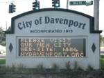 Davenport - Sign