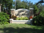 Lake Alfred - Welcome Sign