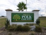 Polk County - Welcome Sign