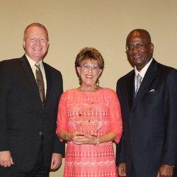 Marcia Staszko was awarded the 2017 Sheila Winitzer Shining Star Award