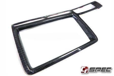 09-16 Nissan GTR Carbon Fiber Natviation Monitor Trim