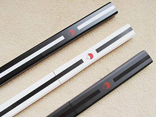 S2658 ANIME NARUTO SASUKE KUSANAGI GRASS CUTTER SWORD GUN METAL BLADE LOT 3  40″