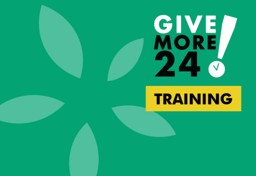 Give More 24! Training Day 2