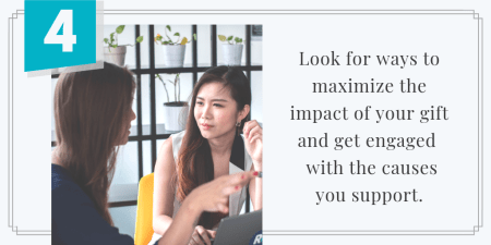 Find Ways to Increase Impact and Get Engaged