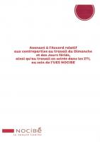 014 -Avenant révision Accord dimanche jour férié 05 09 16