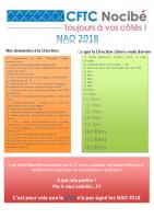tract NAO 2018