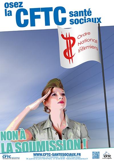 Poster : non à la soumission !