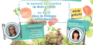 """Venez voir à Nantes, l'événement : """"A tout âge, le bien-être vient en mangeant"""""""