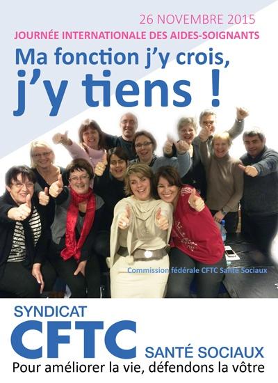 JOURNÉE INTERNATIONALE DES AIDES-SOIGNANTS<br/> DU 26 NOVEMBRE 2015