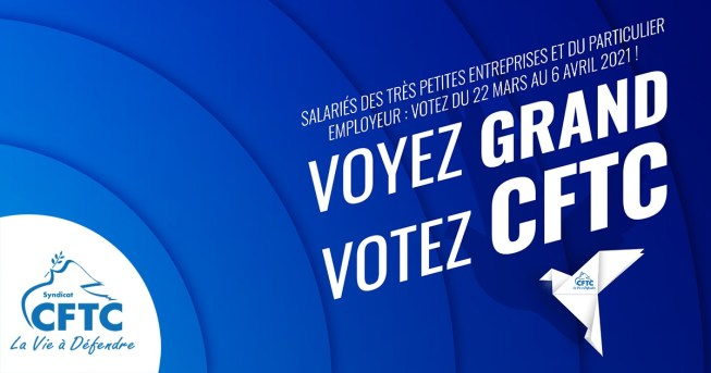 Elections TPE : Votez CFTC, pour être bien représenté !