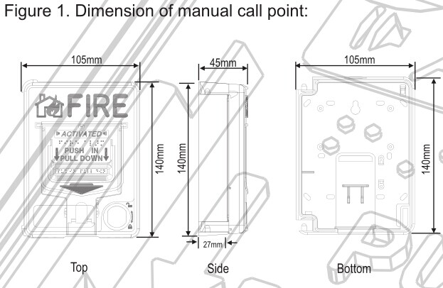 Conventional Manual Call Point:SB116|Professional